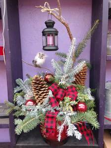 Tue Dec 1 2020 10am, Lantern Porch Pot, 201201101